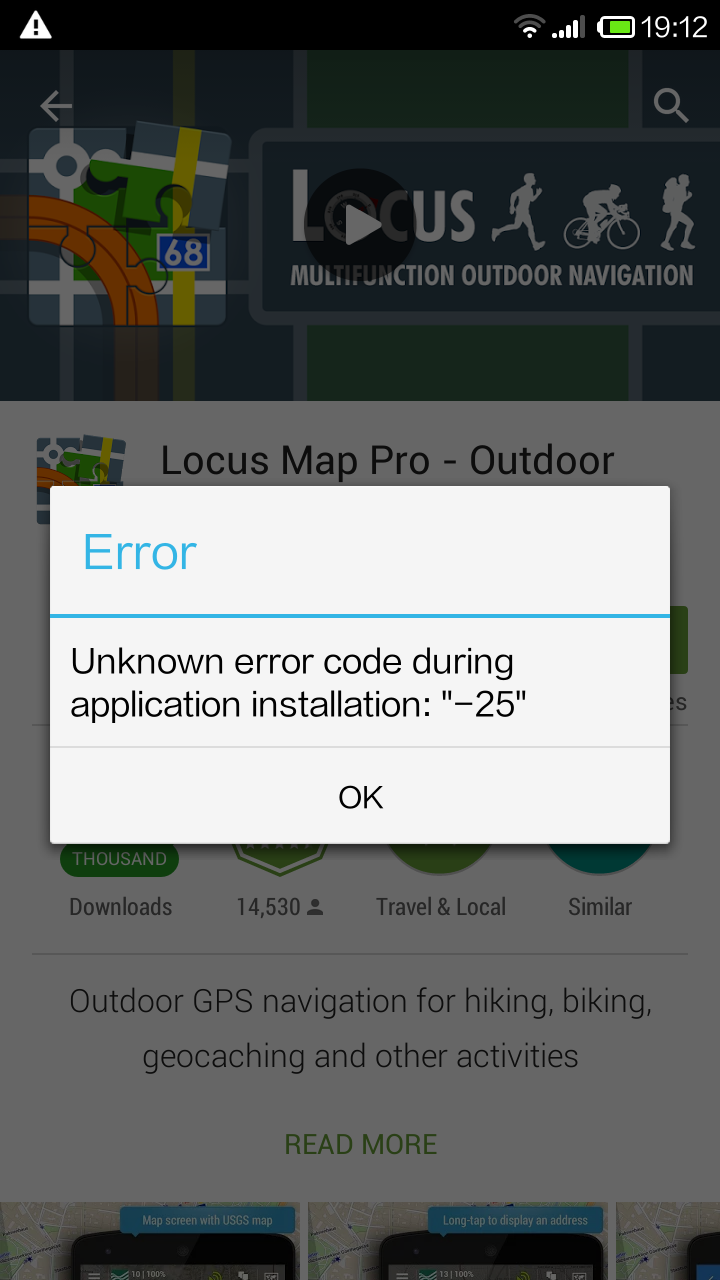Getting error when using my own  map file
