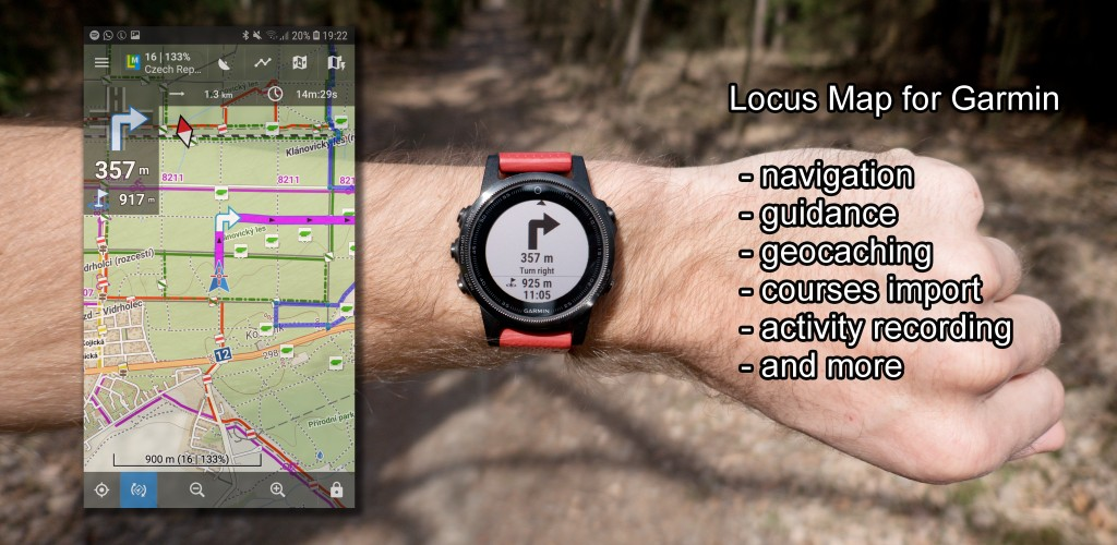 Locus Map for Garmin - new app for Garmin devices