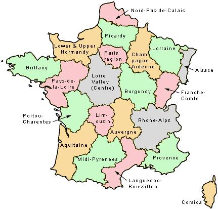 Map Of France Pdf.Regions Of France Map Pdf